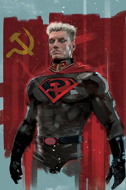 Superman / Redson / Ivandrago  A3