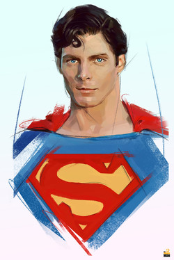 Superman / Chritopher reeve / tribut