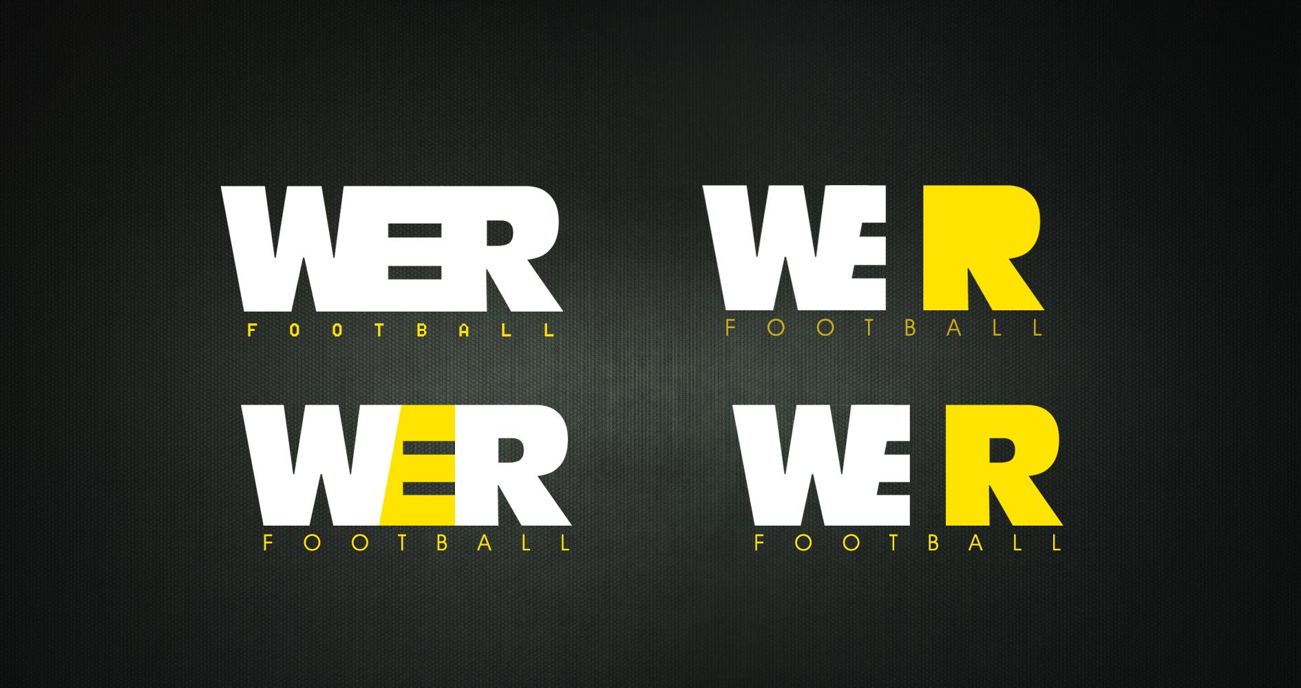 WeRfootball Logo Design