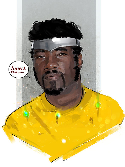 Sweet Christmas, Luke Cage (A1 Size)