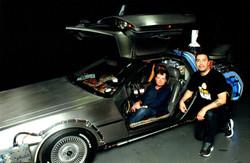 with Michael J Fox