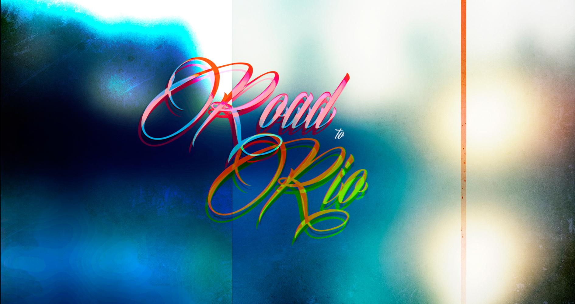 Road and Rio Logo design