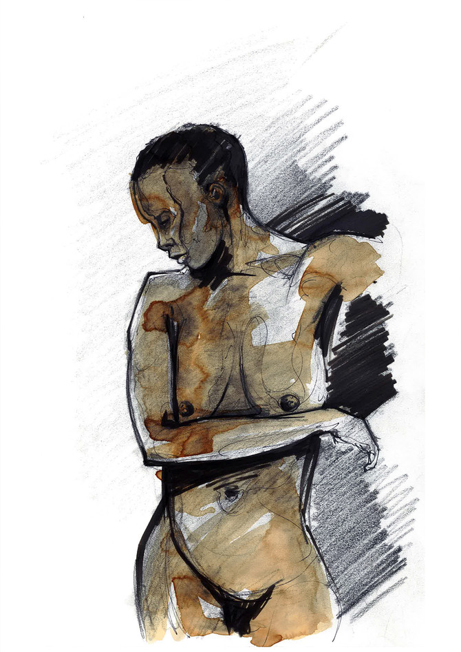 BlackGirl Life Drawing 2013