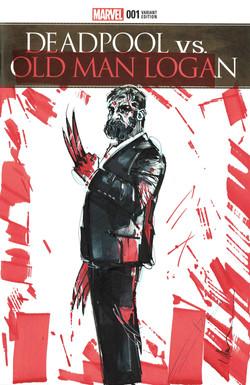 old man logan  cover