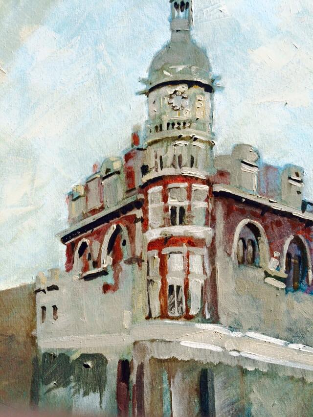 tufnell park oil painting