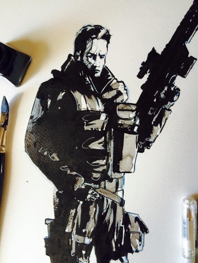 PUNISHER / INK