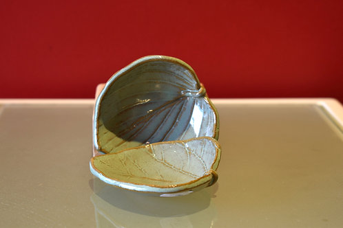 Small Leaf Trinket Tray, Light