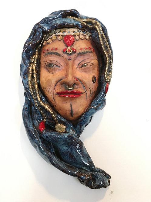 Female Mask Wall Hanging