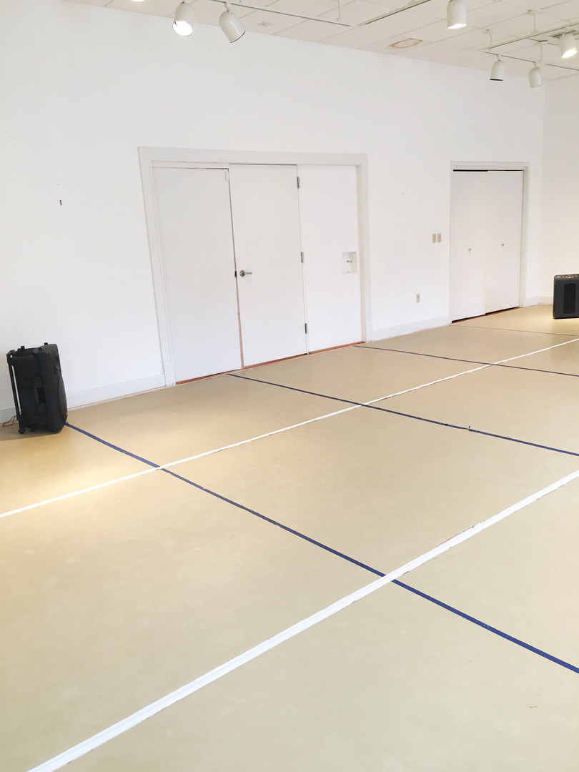 Dance studio (with 6-foot marked floors) 2