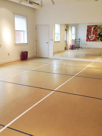 Dance studio (with 6-foot marked floors) 1