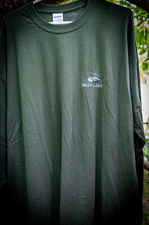 Long Sleeve Tee with Loon Logo on Chest