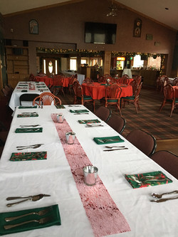 Banquet Room Holiday Decor 2