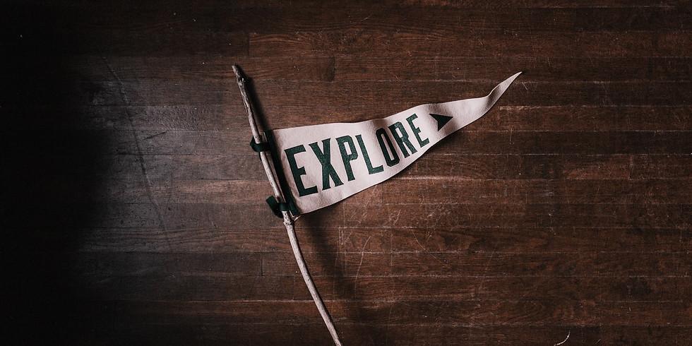 Week 2: Explorers Unite! - FULL WEEK - KINDer Camp