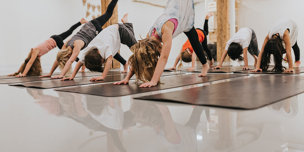 Kids Yoga 4 Week Session (ages 4-6) with Miss Vanessa