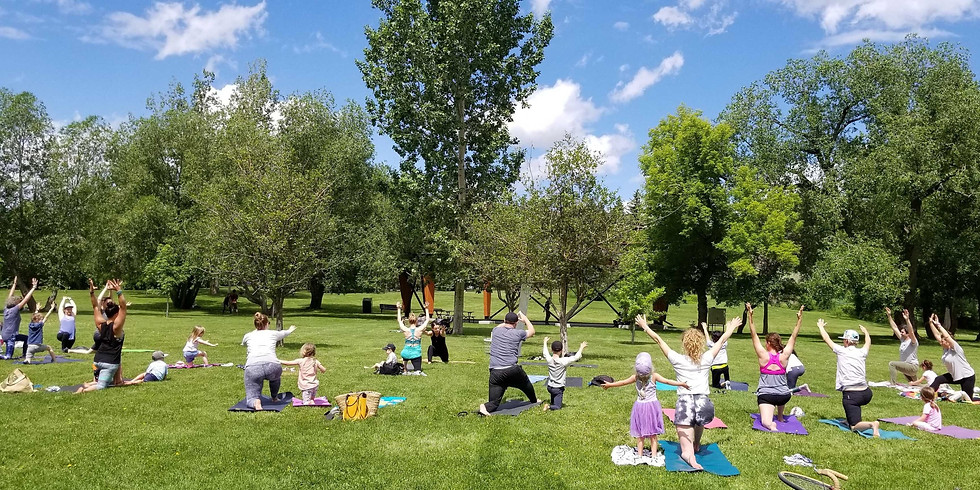 Family Yoga in The Park - August