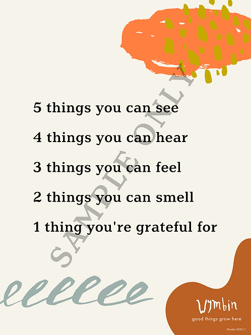 A Mindful Pause Poster