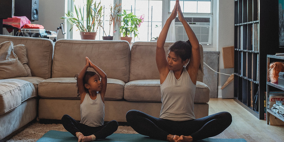 FAMILY DAY Virtual Yoga Class - A Fundraiser for CUPS