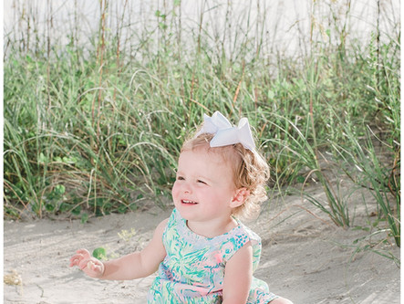 Family Session | Morehead City, NC | Fort Macon Site | NC State Parks | Allie Miller Photography | N