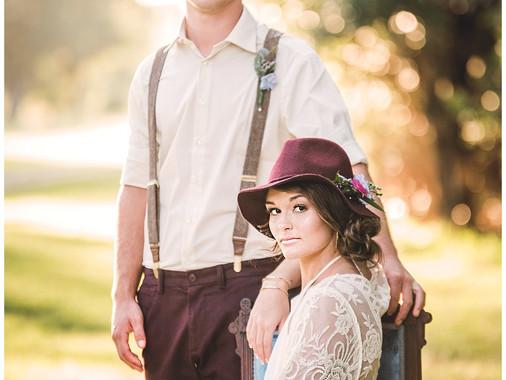 Wedding Destination Series : The Octagon House   Cedar Point, NC   Boho Style  Jerrye Gordon Event