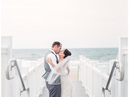 Tammie + Chad | Destination Wedding | Celebration Cottage | Atlantic Beach, NC | Allie Miller Weddin