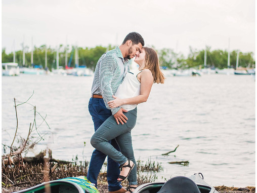 Chelsea & Brandon Couple's Session | Coral Gables | Coconut Grove | Miami, Florida | Allie M