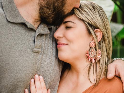 Julia + Andrew | Carolina Home & Gardens | Engagement Session | Allie Miller Weddings | NC Couples