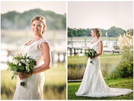 Chelsea's Bridals | Beaufort, NC | Everest Yacht Weddings | Allie Miller Weddings | North Caroli