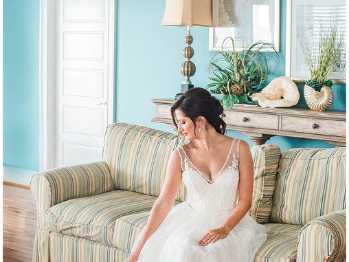 Ashley + Jason | Destination Weddings | Country Club Of The Crystal Coast | Pine Knoll Shores, North