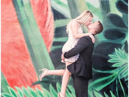 Danielle & Marc | Destination Engagement Session | Miami, Florida | Allie Miller Photography | D