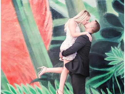 Danielle & Marc   Destination Engagement Session   Miami, Florida   Allie Miller Photography   D