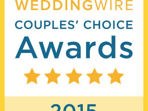 Wedding Wire | Couple's Choice Award | Allie Miller Weddings | North Carolina Wedding Photograph