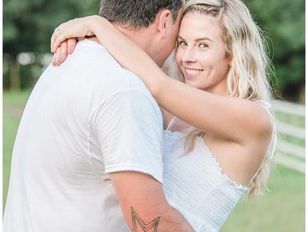 Jordan + Lee | Engagement Sessions | Maysville, NC | Country Destination Photographers | North Carol