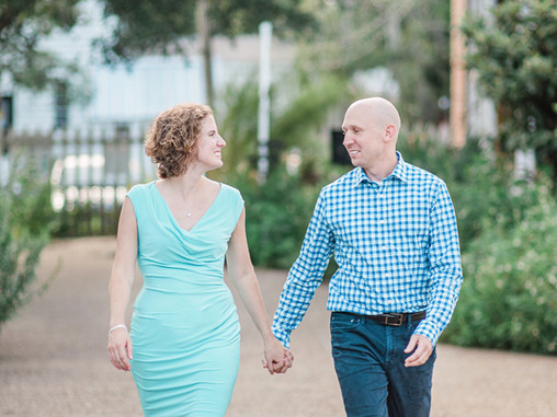 Mary + Daniel | Couple's Session | Beaufort, NC | Destination Celebrations | Weddings | Allie Mi
