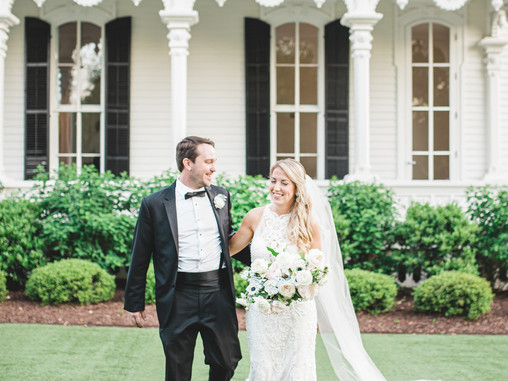 Sarah + Tommy | 04.28.19 | Merrimon Wynn House | Raleigh, NC | Destination Wedding Photographers | A