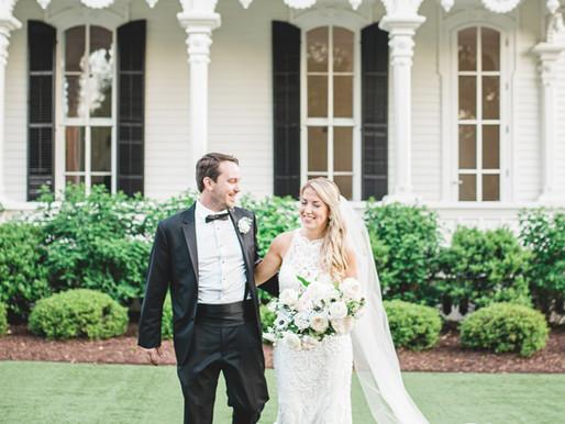 Sarah + Tommy | 04.28.19 | Merrimon Wynn House | Raleigh, NC | Destination Wedding Photographers | A