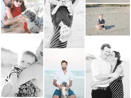 Leisure Family Session | Vacation Session in Emerald Isle, NC | Lifestyle | Just Be Sessions | Allie