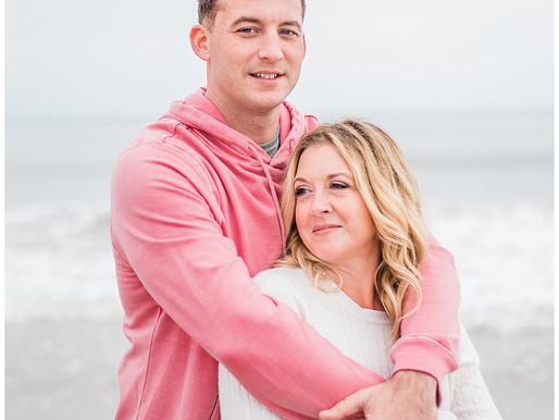 Annie + Ryan | Portrait Session | Atlantic Beach, NC | The ONE | Allie Miller Weddings
