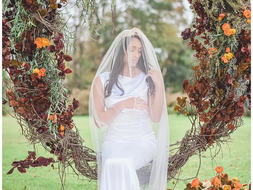 Warm Earthy Colors, Moody + Sweet Bridal For Wedding Planning Ideas | Engagement Season | Just Said