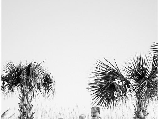 Nancy & Craig | The Celebration Cottage | Atlantic Beach Wedding Photographers | Allie Miller We