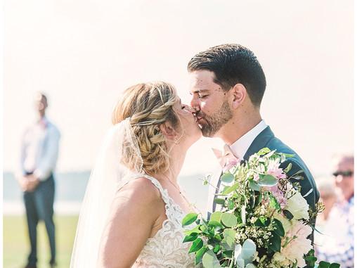 Hannah + Luke   Morehead City Country Club Wedding   Destination Weddings   Allie Miller Weddings  