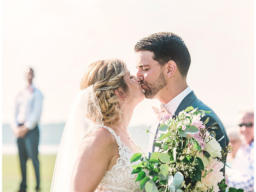 Hannah + Luke | Morehead City Country Club Wedding | Destination Weddings | Allie Miller Weddings |