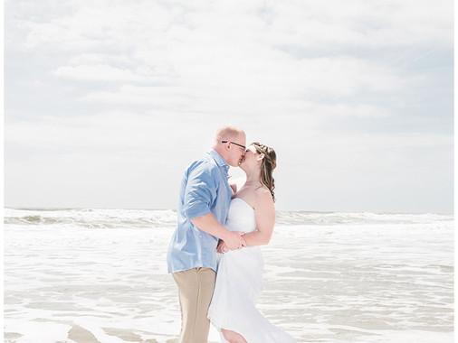 Abigail + Kurtis   Intimate Destination Elopement   The Islander Resort   Emerald Isle, NC   Wedding