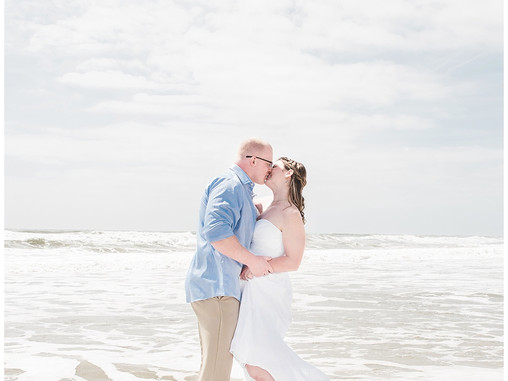 Abigail + Kurtis | Intimate Destination Elopement | The Islander Resort | Emerald Isle, NC | Wedding
