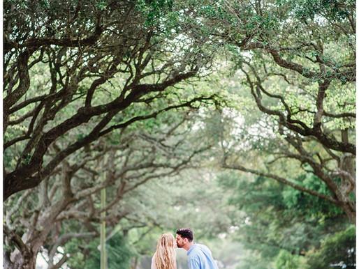 Hannah + Luke | Beaufort, NC Engagement Session | Allie Miller Weddings | North Carolina Engagement