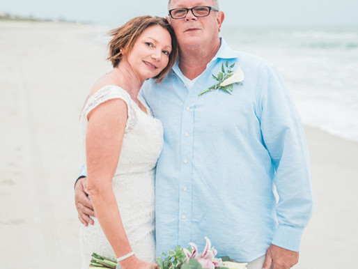 Marisa + Mark | Intimate Elopement | Emerald Isle, NC | Intimate Weddings | Celebrations | Family Va
