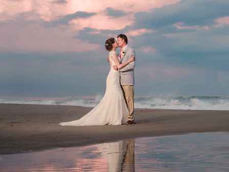 Kristen + Steve | The Islander Resort | Emerald Isle, NC | Allie Miller Weddings | NC Wedding Photog