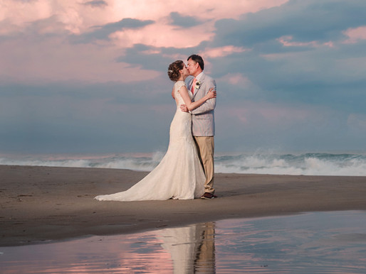 Kristen + Steve | The Islander Resort | Emerald Isle, NC | Allie Miller Weddings | NC Wedding Photog
