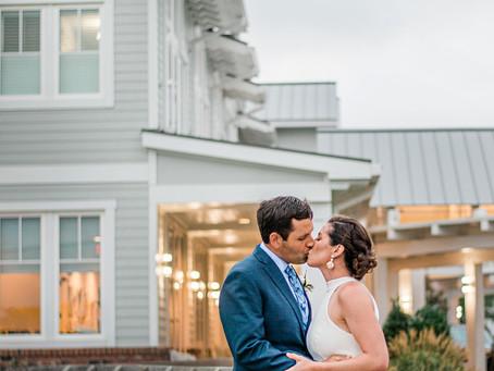 Monica + Michael | Minimony | The Point Emerald Isle, NC | Dolphin Ridge | The Beaufort Hotel | AMW