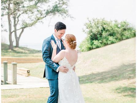 Ivey + Ryan | Pine Knoll Shores, NC Weddings | Country Club of the Crystal Coast Weddings | Saint Eg