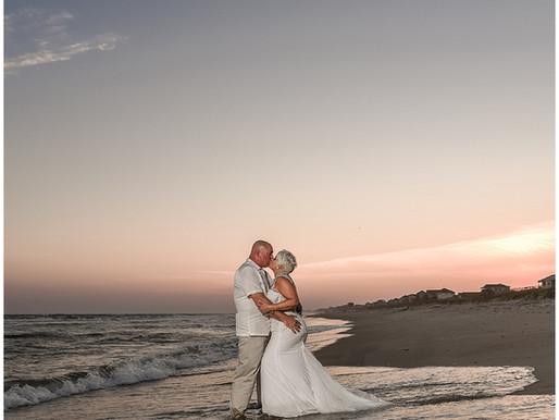 Jill & Donald | Emerald Isle, NC | Emerald Isle Weddings | Destination Weddings | A Seaside Wedd